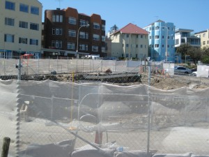 The hole in the ground at North Bondi...