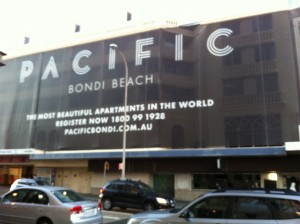 Goodbye Swiss Grand, Make way for the Pacific Apartments...